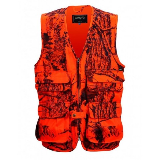 GAMO BECADA ORANGE CAMO VEST
