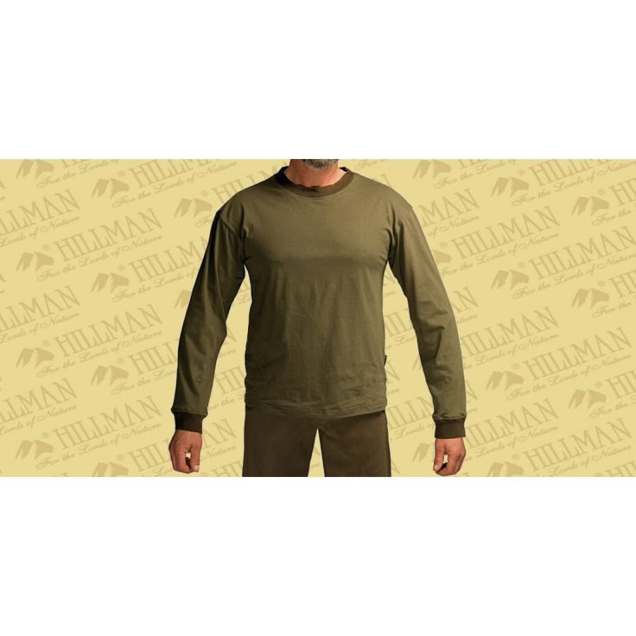 90336G Μπλουζάκι QUAIL, Μακρύ Mανίκι Πράσινο